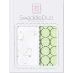 Набор пеленок SwaddleDesigns Swaddle Duo KW Big Chickies (SD-188PG)