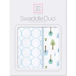 Набор пеленок SwaddleDesigns Swaddle Duo PB Cute and Wild (SD-184PB)