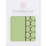 Набор пеленок SwaddleDesigns Swaddle Duo Lime Modern (SD-180LM)