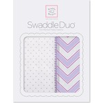Набор пеленок SwaddleDesigns Swaddle Duo LV Classic Chevron (SD-484L)