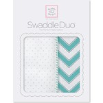 Набор пеленок SwaddleDesigns Swaddle Duo SC Classic Chevron (SD-484SC)