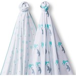 Набор пеленок SwaddleDesigns Swaddle Duo SC Circus Fun (SD-494SC)