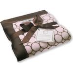 Купить Детский плед SwaddleDesigns Stroller Blanket Pinkw/BRModC(SD-056PP)