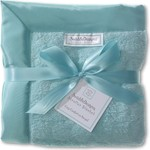 Детский плед SwaddleDesigns Stroller Blanket TurquoisePuffC(SD-168TQ)
