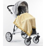 Детский плед SwaddleDesigns Stroller Blanket GoldPuffCircle(SD-168GL)