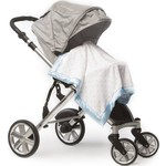 Детский плед в коляску SwaddleDesigns в коляску Stroller Blanket PBandSterlingDot(SD-430PB)