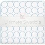Купить Фланелевая пеленка SwaddleDesigns для новорожденного Ultimate Blue Mod on WH (SD-022PB)