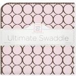 Купить Фланелевая пеленка SwaddleDesigns для новорожденного Pink w/BR Mod C (SD-016PP)