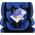 Автокресло Mr Sandman GoodLuck Isofix 9-36 кг Черный/Синий (AMSGLI-0520KRES1016)