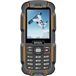 Защищенный Cмартфон Ginzzu R6D 2 Sim Black/Orange