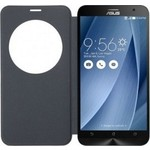 Чехол Asus View Flip Cover Deluxe Silver для ZenFone 2 (90AC00F0-BCV038)