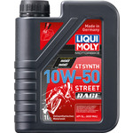 Моторное масло Liqui Moly Motorrad Synth 4T 10W-50 1 л 3982