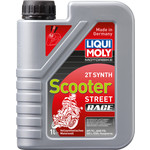 Моторное масло Liqui Moly Motorrad Scooter 2T Synth 1 л 3990