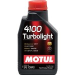 Моторное масло MOTUL 4100 Turbolight 10w-40 1 л