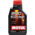 Моторное масло MOTUL 8100 Eco-clean 5w-30 1 л