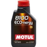 Моторное масло MOTUL 8100 Eco-nergy 0w-30 1 л