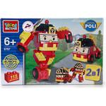 Купить Конструктор Город Мастеров 2-в-1 Робот-Пожарная Машина 115 дет (BB-6767-R)
