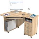 Купить Стол компьютерный ВасКо КС 20-27 М1 - дуб сонома