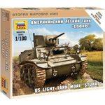 Купить Модель для склеивания Звезда Американский танк Стюарт (6265)