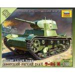 Купить Модель для склеивания Звезда Советский легкий танк Т-2 (6113)