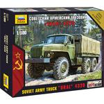 Купить Модель для склеивания Звезда Советский армейский грузовик Урал (7417)