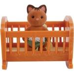 Village Story Малыш котенок с кроваткой (VS-401)