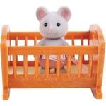 Village Story Малыш мышонок с кроваткой (VS-404)