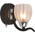 Бра IDLamp 213/1A-Blackchrome