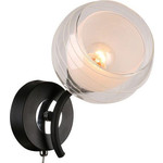 Бра IDLamp 845/1A-Blackchrome