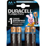 Батарейка Duracell AA MN(MX)1500 Turbo (4шт)