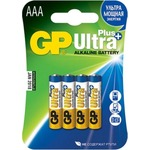 Батарейка GP Ultra Plus AAA, LR03 4шт (24AUP-CR4)