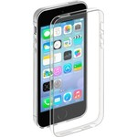 Чехол Deppa для iPhone 5/5s Gel Case + пленка Clear (85200)
