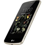 Смартфон LG X220DS Black/Gold (LGX220DS.ACISKG)