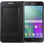 Чехол Samsung E500 Flip Wallet Black (EF-WE500BBEGRU)