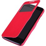 Чехол Nillkin для Lenovo A680 Fresh Series Leather Case Red (T-N-La680-001)