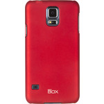 Накладка skinBOX для Samsung G800 Galaxy S5 Mini Red (T-S-Sg800-002)