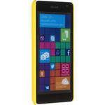 Накладка skinBOX для Microsoft Lumia 535 Yellow (T-S-Ml535-002)