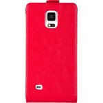 Флип-чехол skinBOX для Samsung Galaxy Note 4 Red (T-F-Sgn4)