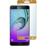 Защитное стекло skinBOX для Samsung Galaxy A7 (2016) Full Screen (0.3Mm, 2.5D) Gold (Sp-220)