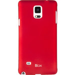 Накладка skinBOX для Samsung Galaxy Note 4 Red (T-S-Sgn4-002)