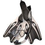 Купить Набор для плавания Wave MSF-1390S65F69 силикон.черный (маска.трубка.ласты)