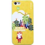 "Чехол Nillkin для iPhone 5S/5 ""Merry Christmas"" Type Shield Yellow T-N-Iphone5S-002"
