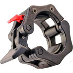 Купить Замок DFC Lock-Jaw с фиксатором для грифа 50 мм черный нейлон (комплект)