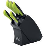 Купить Набор из 5 кухонных ножей с блоком Nadoba Jana (723115)