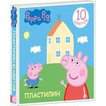 Купить Пластилин Росмэн Свинка Пеппа 10цв (29603)