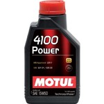 Моторное масло MOTUL 4100 Power 15W-50 1 л