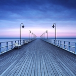 Фотообои W+G Pier at the Seaside 8 частей 366x254 см (00969WG)