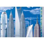 Фотообои W+G World's Tallest Buildings 8 частей 366 x 254 см (00120WG)