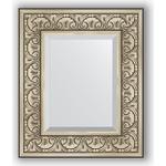 Evoform Exclusive 50x60 см, барокко серебро 106 мм (BY 3372)