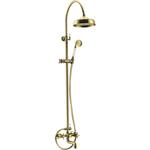 Купить Душевая система Elghansa Praktic Bronze 203 мм, с поворотным изливом, бронза (2302660-2F-Bronze)